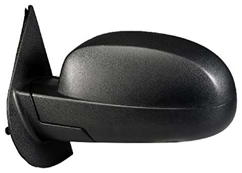 Fit System 62092G Chevrolet/GMC Driver Side Replacement OE Style Manual Folding Mirror - Suburban Driver Mirror Glass