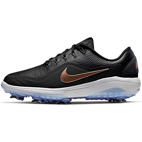 Nike React Vapor 2 Golf Shoes 2019 Women Black/Metallic Red Bronze/Vast Gray Medium 8
