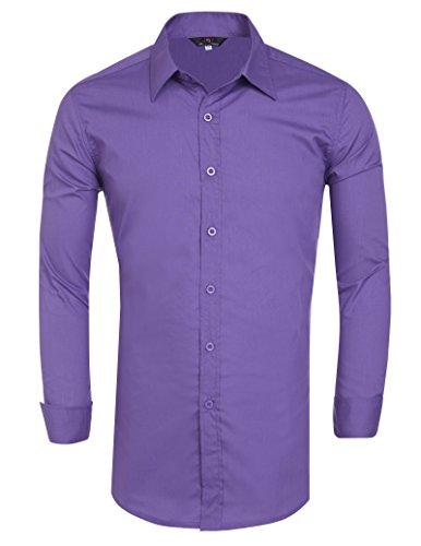 Business Homme Manche 6 Shirt Fit Pauljones Chemise Slim Parfaite Coupe Longue zwCxUq5