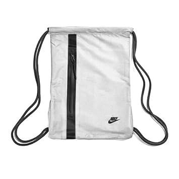 Nike Tech GMSK Bolsa con Cuerdas, Unisex Adulto, Gris (Vast Grigio/Nero), MISC: Amazon.es: Deportes y aire libre