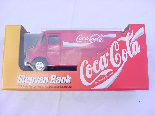 COCA-COLA GRUMMAN STEPVAN BANK 1:43 SCALE DIE CAST METAL