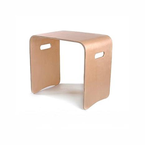 Amazon.com: ZLL-Design - Taburete cuadrado multifunción para ...