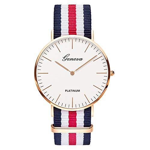 Amazon.com: Nylon Strap Style Quartz Women Watch Top Brand Watches Fashion Casual Fashion Wrist Watch Relojes Brown: Jewelry