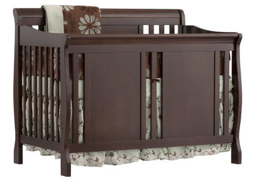 UPC 056927084043, Stork Craft Verona 4-in-1 Fixed Side Convertible Crib, Espresso