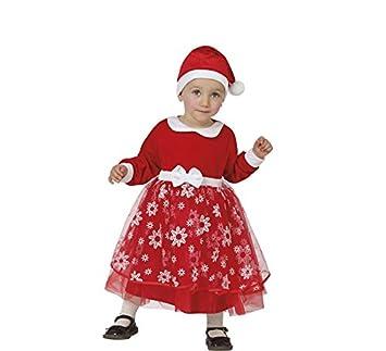 Atosa-26784 Disfraz Mamá Noel Niña Bebé - T, Color Rojo, 0 a ...
