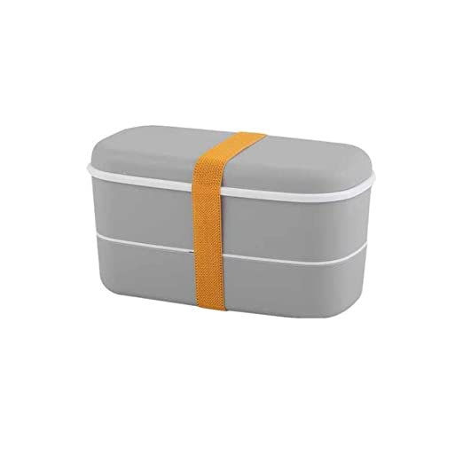 yylikehome Frosted 2 Layer Lunch Box Microondas a Prueba de Fugas ...