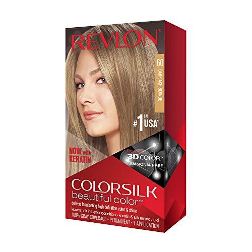 - Revlon Colorsilk Beautiful Color, Dark Ash Blonde, 1 Count