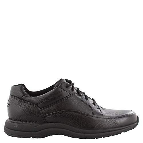 Rockport Men's DMXPedition Edge Hill,Tumble Black Leather,US 10.5 W (Black Leather Tumble)