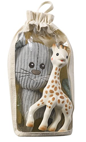 Vulli 850515.0 Sophie la Girafe pluche dieren lazare en originele set, meerkleurig