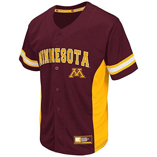 Golden Gophers Baseball Jersey (Team Color) - L ()