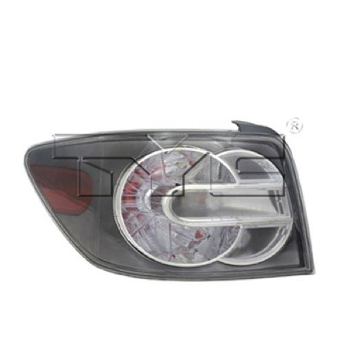 Go-Parts ª OE Replacement for 2007-2009 Mazda CX-7 Rear Tail Light Lamp Assembly/Lens/Cover - Left (Driver) Side EG21-51-160H MA2800138 for Mazda CX-7 (2007 Mazda Cx 7 Tail Light Assembly)
