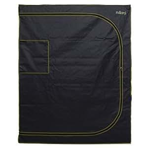 """Milliard horticultura d-door 48""""x 24"""" x 60""""100% Mylar reflectante hidropónico Grow tienda de campaña con ventana, ideal para uso en interior siembra y primeros Kit para principiantes"""