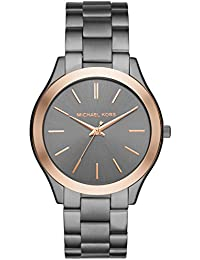 Men's Quartz Stainless Steel Casual Watch, Color:Grey...