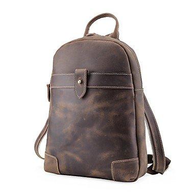 BOAOGOS Borse Unisex All Seasons zaino per outdoor casual marrone, marrone BOAOGOS@