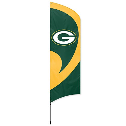 Review Party Animal Green Bay Packers NFL Flag Tailgating Kit