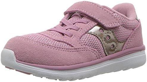 Saucony Baby Jazz Lite Sneaker, Blush Metallic, 9 W US Toddler
