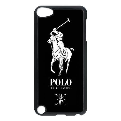 JiHuaiGu(TM) iPod Touch 5 funda Negro Polo Ralph Lauren tema ...