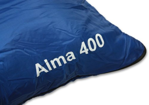 Warm Alma Sleeping Ideal Bag Compression 400 Blue Waterproof For Bag Camping 400GSM Included Double Carry Filling Festivals Andes pXWHUdnn