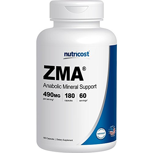 Nutricost ZMA 180 Capsules - Zma 180 Capsules