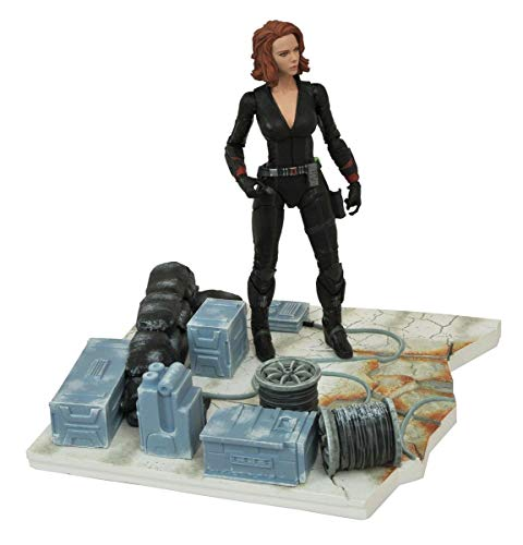 Diamond Select Toys Marvel Select: Avengers Age of Ultron: Black Widow Action -