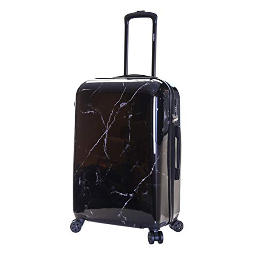 Karabar Hard Medium Large Suitcase Luggage Bag Polycarbonate PC Shell 66 cm 3.4 kg 65 litres with 4 Spinner Wheels and…