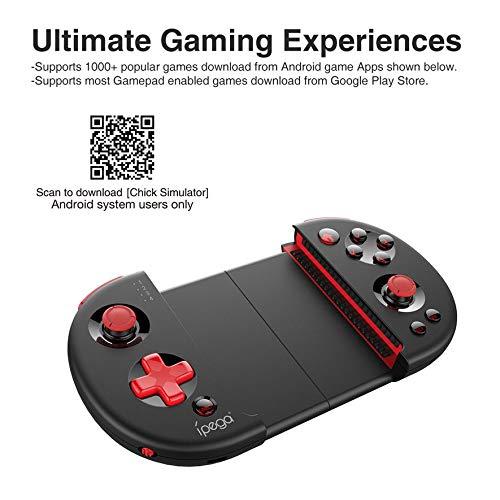 Compra 8Eninise Tableta inalámbrica Controlador de Juegos para teléfonos móviles Gamepad Joystick Stretch en Amazon.es