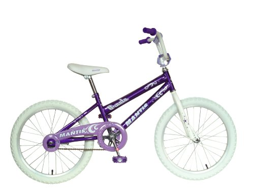 Mantis Ornata Kid's Bike, 20 inch Wheels, 12 inch Frame, Girl's Bike, Purple