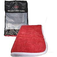Flanela de Microfibra Vermelha 380gsm 40x60cm SGCB
