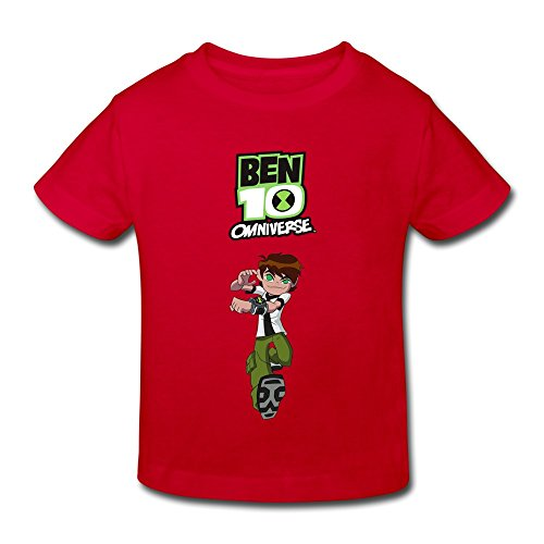 Price comparison product image Toddler Ben 10 Custom Cool Size 5-6 Toddler Color Red Tshirt By Crystal