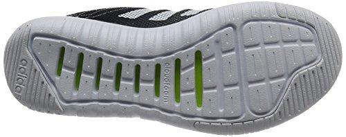 adidas CLOUDFOAM SUPER FLEX W - Zapatillas de deporte para Mujer, Gris - (GRPUDG/NEGBAS/FTWBLA) 37 1/3