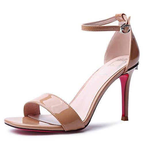 ColorYo Alta GAOLIM Tacones Verano Home Sandalias De Y Zapatos Mujer Shoes Diario De Heel 6wqpfOwR