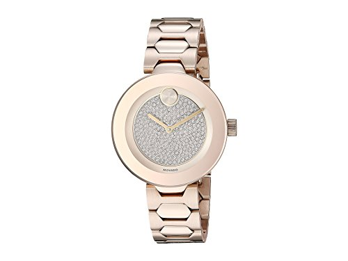 Movado Women's Bold-T-Bar - 3600493 Carnation Plated One Size