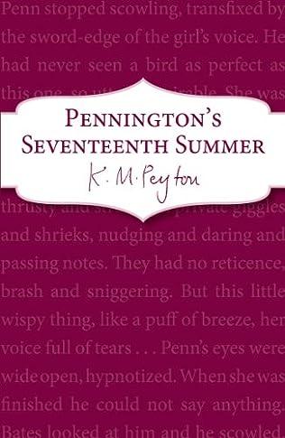 book cover of Pennington\'s Seventeenth Summer
