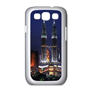 Taipei 101 Towers Samsung Galaxy S3 9300 Cell Phone Case White phone component RT_328560