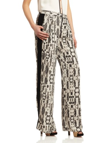 BCBGMAXAZRIA - Pantalón carrot para mujer Negro/Comb