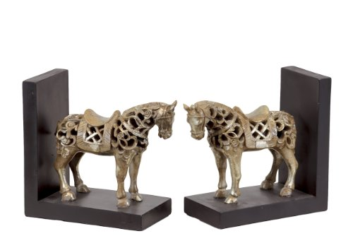 horse head bookends - 8