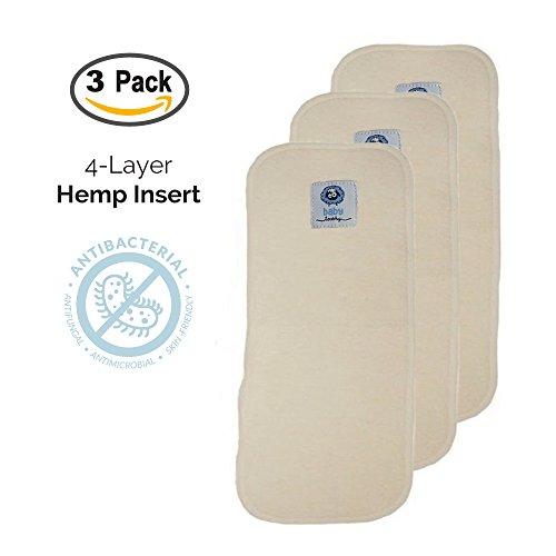 hemp cloth diaper inserts - 9