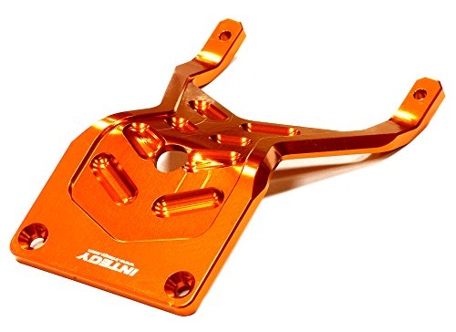 UPC 917890161684, Integy RC Hobby T8644ORANGE Billet Machined 4mm Front Skid Plate for Traxxas 1/10 Stampede 2WD