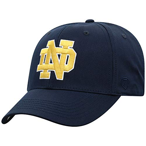(NCAA Notre Dame Fighting Irish Men's Fitted Relaxed Fit Team Icon Hat,)
