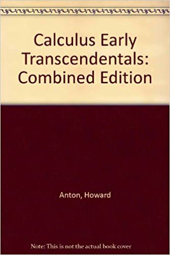 Calculus Early Transcendentals Student Resource And