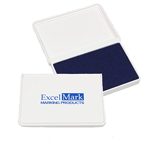ExcelMark Ink Rubber Stamps Blue product image