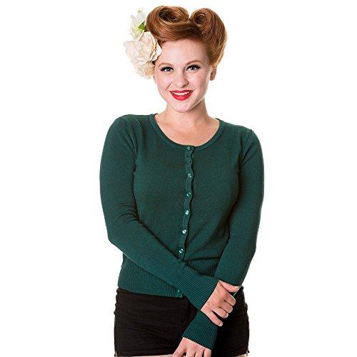 Vietato giacca da donna in viscosa carminda acxliner - verde bosco verde