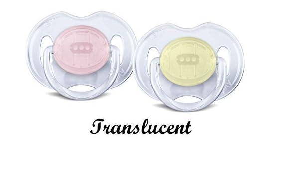 bebé Chupete Chupete Tetina Philips Avent translúcido 0-6m meses / 6 ...