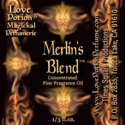 Love Potion®: Merlin's Blend ~ A Love & Power Potion for Men ~ 1/3 fl.oz. Concentrated Fragrance Oil