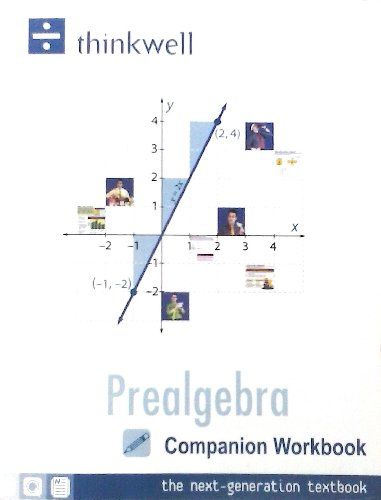 Prealgebra Companion Workbook the Next-generation Textbook...
