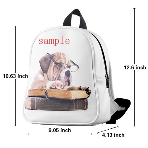 luxry Lovely invincible Pug Dog Kids?School?Bag?Backpack comfortable