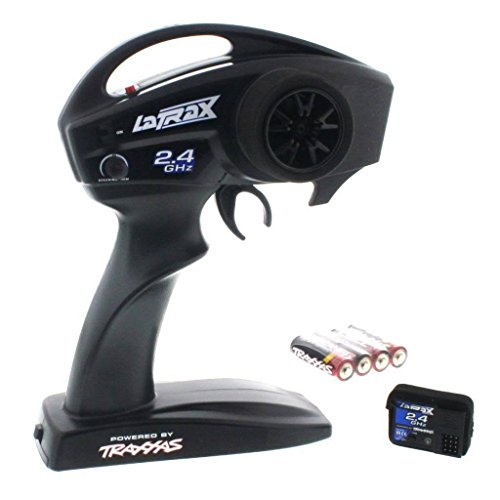 Radios 2 Channel Pistol - Traxxas 1/18 LaTrax Teton 2.4GHz 2-Channel Radio Transmitter & Receiver 3047,3046