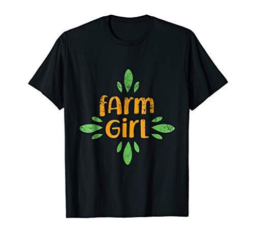 Farm Girl Gift T-Shirt Women Farmer Profession Work