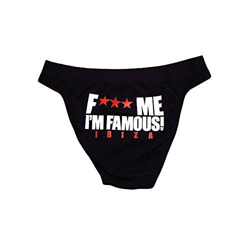 F*** Me I'm Famous: Braguitas Clásic (Pack de 3) Negro