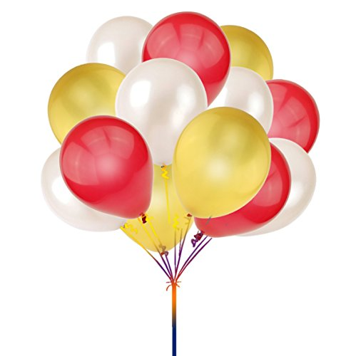 10 inch PLAIN LATEX BALLOONS Party Wedding Birthday Decorations red - 1